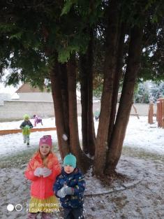 1. sníh